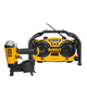 Dewalt DWFP12658P 15 Degree 1-3/4 in. Coil Roofing Nailer and 7.2V-18V Cordless Worksite Radio Combo Kit