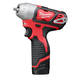 Milwaukee 2461-22 M12 12V Cordless Lithium-Ion 1/4 in. Impact Wrench