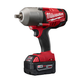 Milwaukee 2762-22 M18 FUEL 18V Cordless 1/2 in. High Torque Impact Wrench with Detent Pin with 2 REDLITHIUM Batteries