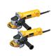 Dewalt D28110-2 4-1/2 in. 11,000 RPM 7.0 Amp Angle Grinder (2-Pack)