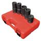 Sunex Tools 5685 5-Piece 1 in. Drive SAE/Metric Wheel Service Impact Socket Set