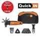 Fein 69908195193 MultiMaster Start Q Basic Oscillating Tool Kit with FREE 1-3/8 in. Long-Life E-Cut Blade
