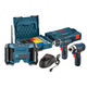 Bosch CLPK33-120LP 12V Max Cordless Lithium-Ion 3-Tool Combo Kit with L-BOXX Storage Cases