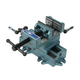 Wilton 11696 Cross Slide Drill Press Vise - 6 in. Jaw Width, 6 in. Jaw Opening, 6 in. Jaw Depth