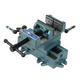 Wilton 11698 Cross Slide Drill Press Vise - 8 in. Jaw Width, 8 in. Jaw Opening, 2 in. Jaw Depth