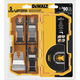 Dewalt DWA4216 Oscillating Tool 5-Piece Blade Set with Case