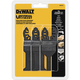 Dewalt DWA4215 Oscillating Tool 3-Piece Set