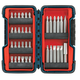 Bosch TS4036 36-Piece Extra-Hard Screw Driving Bit Set with Compact Brute-Tough Case