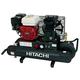 Hitachi EC2510E 8 Gallon 5.5 HP Oil-Lubricated Gas Horizontal Air Compressor