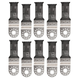 Fein 63502151130 Multi-Mount 1-1/8 in. Universal Bi-Metal E-Cut Blade (10-Pack)