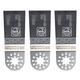 Fein 63502160120 Multi-Mount 1-3/8 in. Long Life Bi-Metal E-Cut Blade (3-Pack)