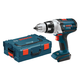 Bosch DDH181BL 18V Cordless Lithium-Ion Brute Tough 1/2 in. Drill Driver (Bare Tool) with L-BOXX-2 and Exact-Fit Insert