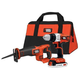 Black & Decker BDCD220RS 20V MAX 2-Tool Combo Kit