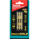 Makita B-39584 3-Piece Impact Gold #2 Phillips 2-1/2 in. Double-Ended Power Bit