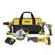 Dewalt DCK520D2 20V MAX Cordless Lithium-Ion 5-Tool Combo Kit