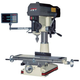 JET 350128 Mill Drill with NEWALL DP700 2 Axis DRO installed