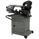 JET 414457 5 in. x 6 in. 1/2 HP 1-Phase Swivel Head Horizontal Band Saw