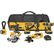 Factory Reconditioned Dewalt DCK655XR 18V XRP Cordless 6-Tool Combo Kit