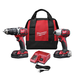 Milwaukee 2697-22CT M18 18V Cordless Lithium-Ion 1/2 in. Compact Hammer Drill and Impact Driver Combo Kit
