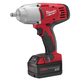 Factory Reconditioned Milwaukee 2663-82 M18 18V Cordless 1/2 in. Lithium-Ion Impact Wrench with 2 Batteries