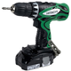 Hitachi DS18DFLM 18V Cordless Lithium-Ion 1/2 in. Drill Driver Kit