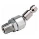 Freeman Z1414MMSAP 1/4 in. x 1/4 in. Male to Male Swivel Automotive Plug