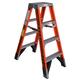 Werner T7404 4 ft. Type IAA Fiberglass Twin Ladder