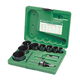 Greenlee 891 11-Piece Bi-Metal Hole Saw Kit for 3/4 in. to 2-1/2 in. Conduit