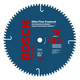 Bosch CB1080 10 in. 80-Tooth Ultra-Fine Crosscutting Blade for Table/Miter Saws