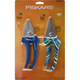 Fiskars 395815-1001 Designer Stainless Steel Pruning Set (Navy)