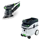 Festool PAC567871 Delta Orbital Finish Sander with CT 36 AC 9.5 Gallon Mobile Dust Extractor
