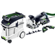 Festool P48574447 Domino XL Joiner Set with CT 48 E 12.7 Gallon HEPA Mobile Dust Extractor