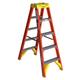 Werner T6205 5 ft. Type IA Fiberglass Twin Ladder
