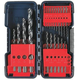 Bosch BL20 1/8 in. - 1/2 in. 20-Piece Black Oxide Drill Bit Set with Molded Case