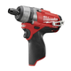 Factory Reconditioned Milwaukee 2402-80 M12 FUEL 12V Cordless Lithium-Ion 1/4 in. Hex 2-Speed Screwdriver (Bare Tool)