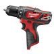 Factory Reconditioned Milwaukee 2407-80 M12 12V Cordless Lithium-Ion 3/8 in. Drill/Driver (Bare Tool)