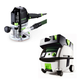 Festool PN574342 Plunge Router with CT MINI HEPA 2.6 Gallon Mobile Dust Extractor