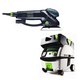 Festool PN571810 Rotex 6 in. Multi-Mode Sander with CT MINI HEPA 2.6 Gallon Mobile Dust Extractor