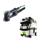 Festool PN571823 Rotex 3-1/2 in. Multi-Mode Sander with CT MINI HEPA 2.6 Gallon Mobile Dust Extractor