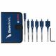 Bosch DSBS5007P 6-Piece DareDevil Stubby Spade Bit Set with Pouch
