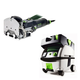Festool PN574332 Domino Mortise and Tenon Joiner with CT MINI HEPA 2.6 Gallon Mobile Dust Extractor