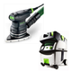 Festool PI567871 Delta Orbital Finish Sander with CT MIDI HEPA 3.3 Gallon Mobile Dust Extractor