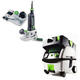Festool PN574368 Modular Trim Router with CT MINI HEPA 2.6 Gallon Mobile Dust Extractor
