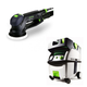 Festool PI571782 Rotex 5 in. Multi-Mode Sander with CT MIDI HEPA 3.3 Gallon Mobile Dust Extractor