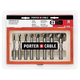 Porter-Cable PC1008 8-Piece Forstner Drill Bit Set