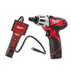 Milwaukee 2310-21P M12 12V Cordless Lithium-Ion 1/4 in. Compact Drill Driver and Inspection Camera Combo Kit