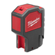 Milwaukee 2320-21 M12 12V Cordless Lithium-Ion 2-Beam Plumb Laser Kit