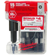 Milwaukee 48-32-5003M 1 in. Phillips #2 Shockwave Insert Bit (15-Pack)