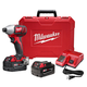 Factory Reconditioned Milwaukee 2657-82 M18 18V Cordless Lithium-Ion 2-Speed 1/4 in. Hex Impact Driver Kit