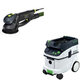 Festool PAC571810 Rotex 6 in. Multi-Mode Sander with CT 36 AC 9.5 Gallon Mobile Dust Extractor
